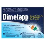 Dimetapp Day & Night PE Cough 24 Liquid Capsules