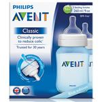 Avent Bottle Blue 260ml 2 Pack