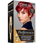 L'Oreal Paris Preference Permanent Hair Colour - P67 Pure Scarlet (Intense, fade-defying colour)
