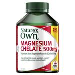 Nature's Own Magnesium Chelate 500mg 250 Capsules Exclusive Pack