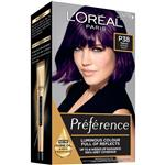 L'Oreal Paris Preference Permanent Hair Colour - P38 Deep Purple Pearl (Intense, Fade-defying colour)