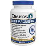 Carusos Natural Health Super Magnesium 120 Tablets