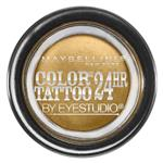 Maybelline Color Tattoo 24HR Cream Gel Eyeshadow - Bold Gold