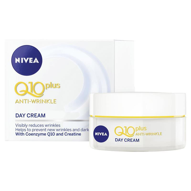 Nivea Visage Anti Wrinkle Q10 Day Cream SPF30+ 50ml at Chemist Warehouse in Campbellfield, VIC | Tuggl