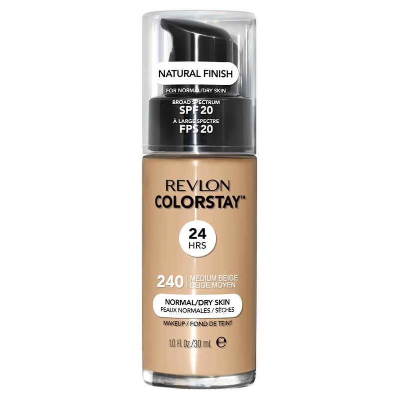 Revlon ColorStay Makeup with Time Release Technology for Normal/Dry Medium Beige at Chemist Warehouse in Campbellfield, VIC | Tuggl