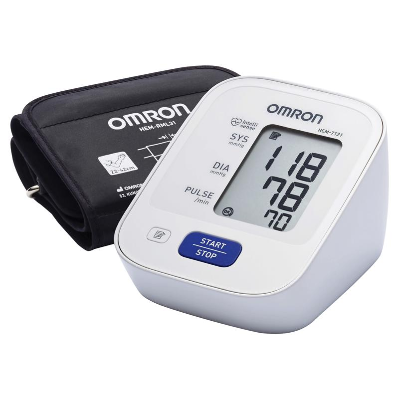 Buy Omron HEM7121 Standard Blood Pressure Monitor Online at Chemist  Warehouse®