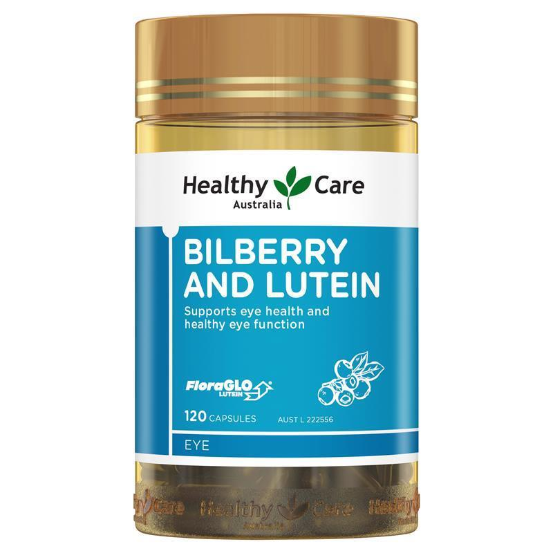 Buy Healthy Care Bilberry Lutein 120 Capsules Online At Chemist Warehouse