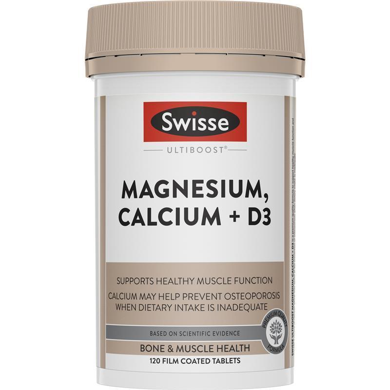 스위스 얼티부스터 마그네슘 칼슘 + ..