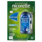 Nicorette Quit Smoking Cooldrops Lozenges Regular Strength Icy Mint 2mg 20 Pieces