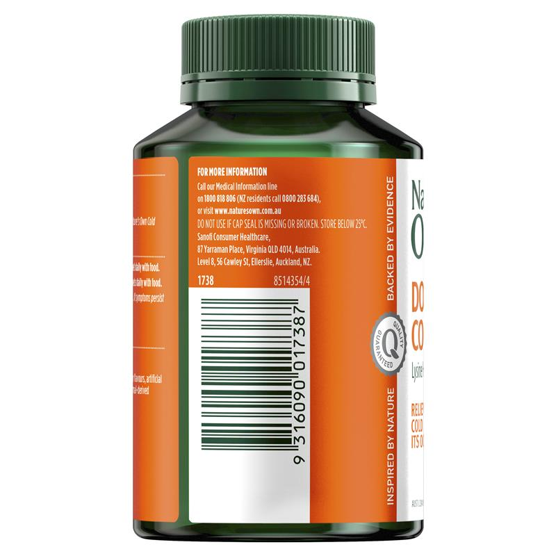 Buy Nature's Own Double Strength Cold Sore Relief L-Lysine