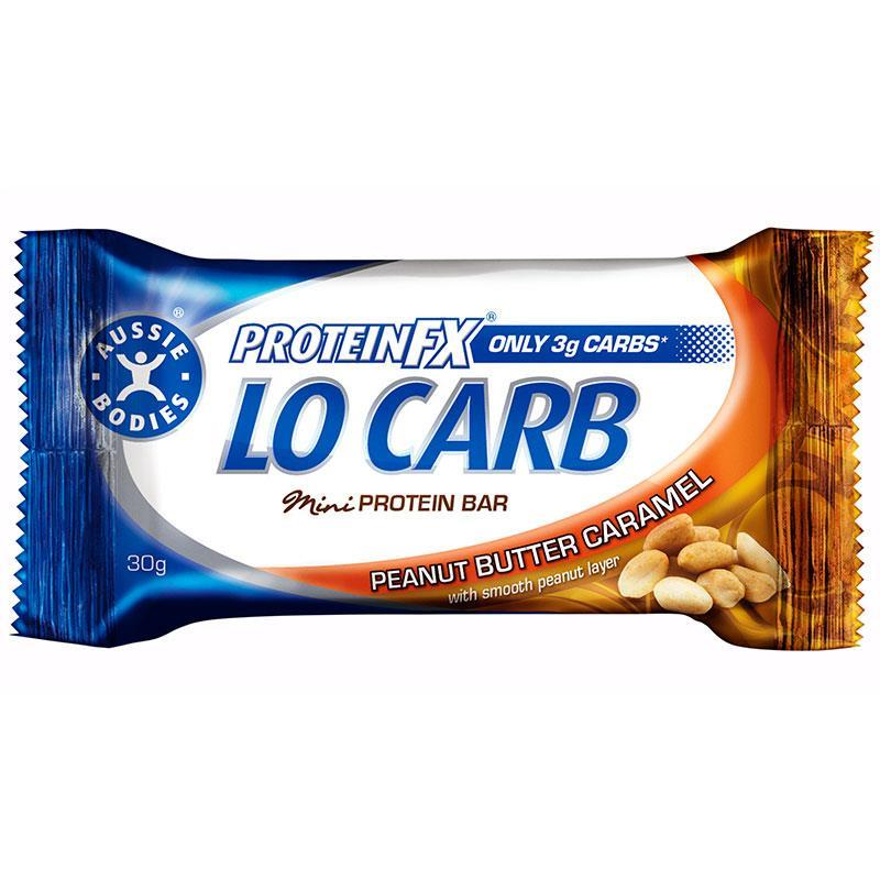 Aussie Bodies Protein FX Lo Carb Mini Bar Peanut Butter 30g at Chemist Warehouse in Campbellfield, VIC | Tuggl