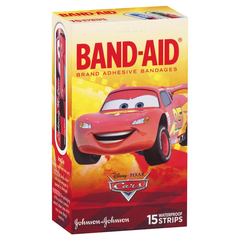 Buy Band-Aid Character Strips Cars 15 Online At Chemist
