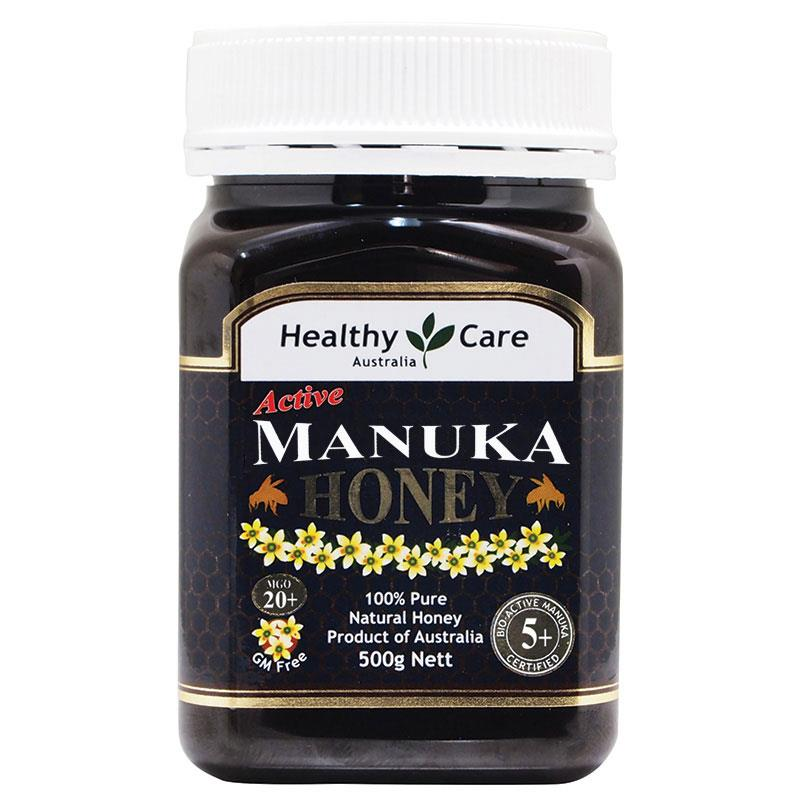 buy healthy care manuka honey mgo 20 5 500g not available in wa