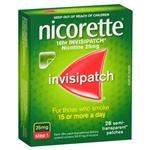 Nicorette Invispatch 25mg 28 Pack