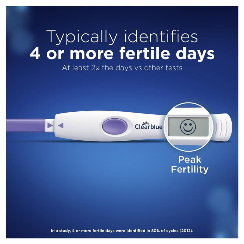 Buy Clearblue Digital Ovulation Test Dual Hormone Indicator