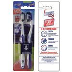 AFL Toothbrush Fremantle Dockers Twin Pack