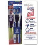 AFL Toothbrush North Melbourne Kangaroos Twin Pack