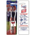 AFL Toothbrush Sydney Swans Twin Pack