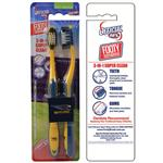AFL Toothbrush West Coast Eagles Twin Pack