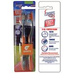 AFL Toothbrush GWS Giants Twin Pack