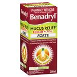 Benadryl Mucus Relief Double Action Forte 200mL