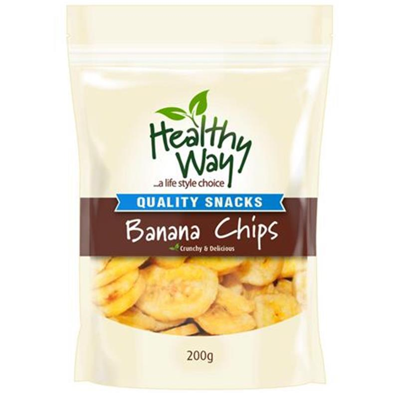 Healthy Way Banana Chips 200g at Chemist Warehouse in Campbellfield, VIC | Tuggl