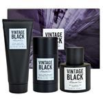 Kenneth Cole Vintage Black 3 Piece Set