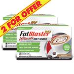 Naturopathica FatBlaster 2 For $40 VLCD Ultimate Shake Cappuccino 21 Sachets