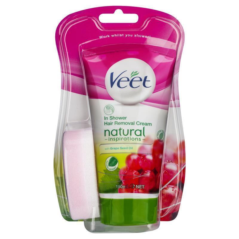 Veet Naturals In Shower Hair Removal Cream