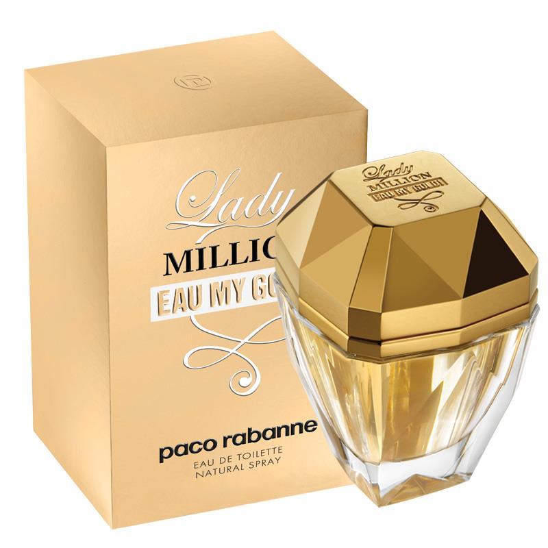 buy paco rabanne lady million eau my gold 50ml eau de. Black Bedroom Furniture Sets. Home Design Ideas
