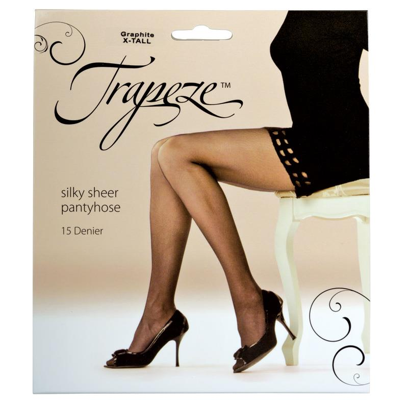 44ad98cec2e Buy Trapeze Sheer Pantyhose Graphite Extra Tall Online at Chemist ...