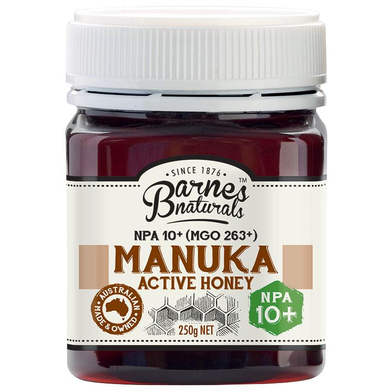 Barnes Naturals Manuka Honey 10+ 250g at Chemist Warehouse in Campbellfield, VIC | Tuggl