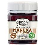 Barnes Naturals Manuka Honey 10+ 250g