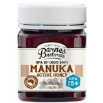 Barnes Naturals Manuka Honey 15+ 250g