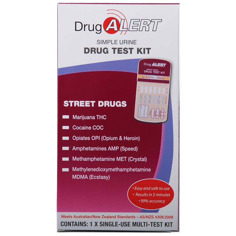Buy Drug Alert Street Drugs Single Kit Online at Chemist
