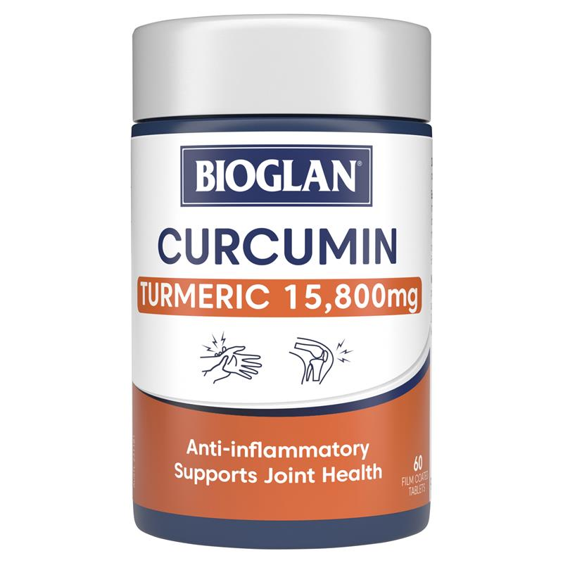 Buy Bioglan Clinical Curcumin 60 Tablets Online At Chemist Warehouse