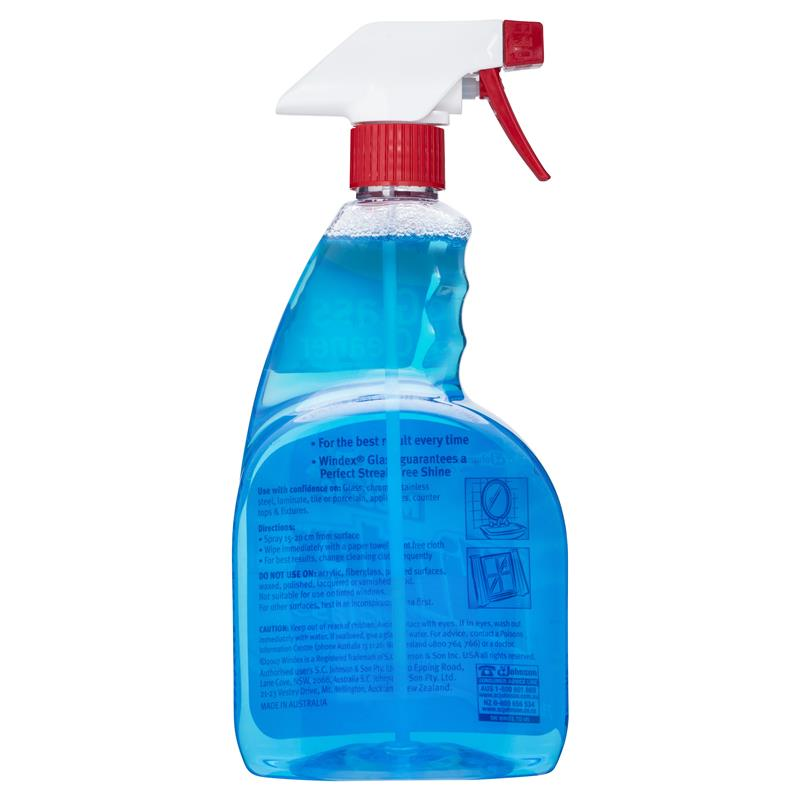 how to clean glass windex