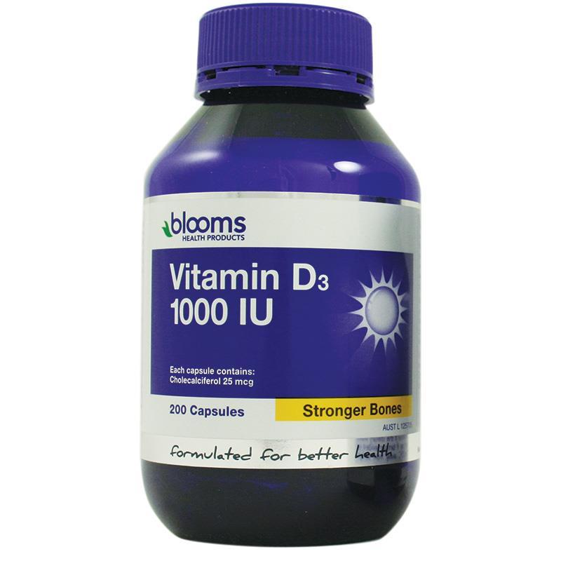 블룸스 비타민D3 1000IU 200..