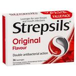 Strepsils Lozenges Original 36