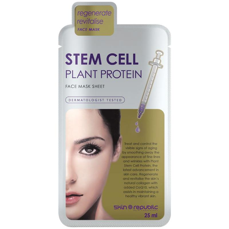 Buy Skin Republic Stem Cell Plant Protein Face Mask Online