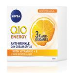 Nivea Visage Anti-Wrinkle Q10 Plus Energy Day Creme SPF15 50ml