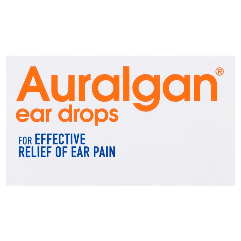 Buy Auralgan Ear Drops 15mL Online at Chemist Warehouse®