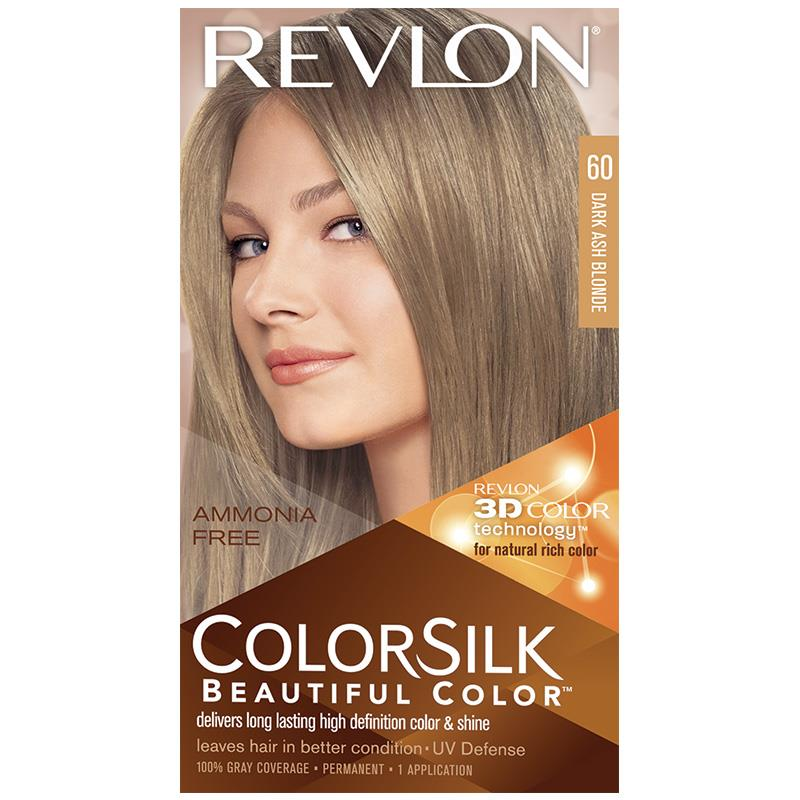 Buy Revlon Colorsilk 60 Dark Ash Blonde Online At Chemist