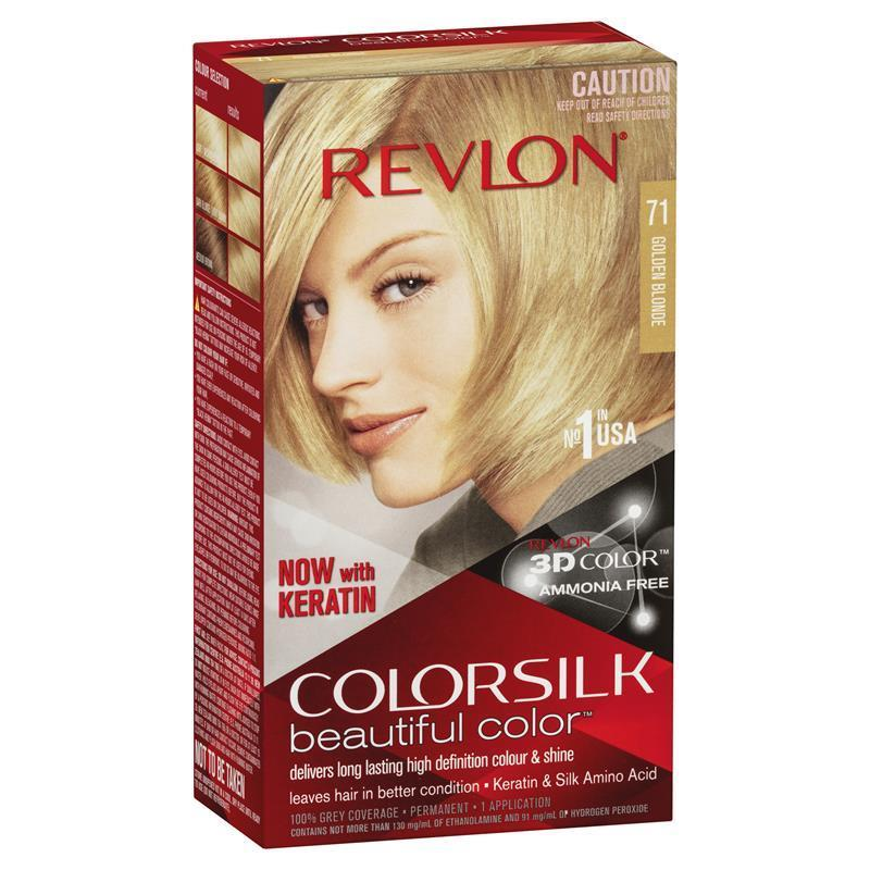 Buy Revlon Colorsilk 71 Golden Blonde Online At Chemist Warehouse