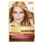 L'Oreal Paris Excellence Age Perfect Permananent Hair Colour - 7.32 Dark Gold Rose Blonde (Natural Blended Colour)