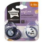 Tommee Tippee Closer To Nature Any Time Soothers 6-18 Months 2 Pack