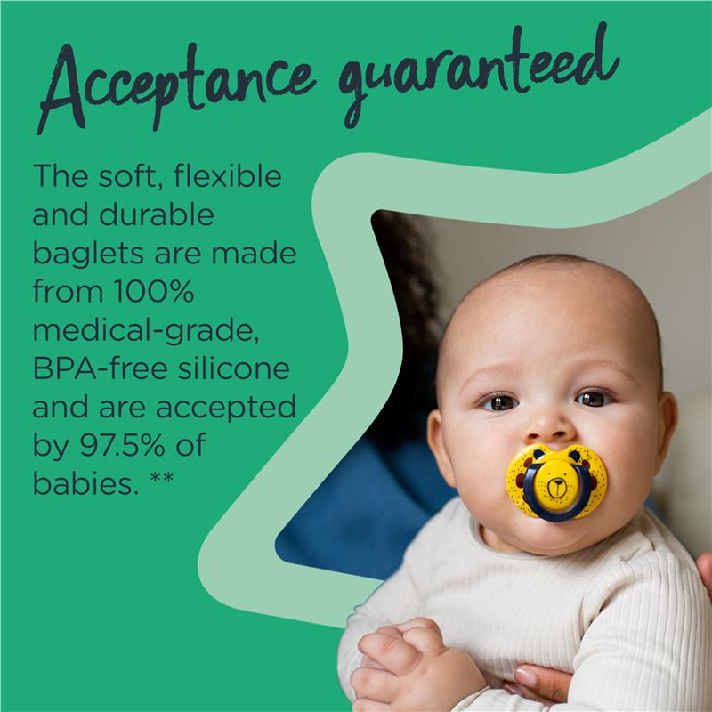 6-18 Months Tommee Tippee Fun Soother