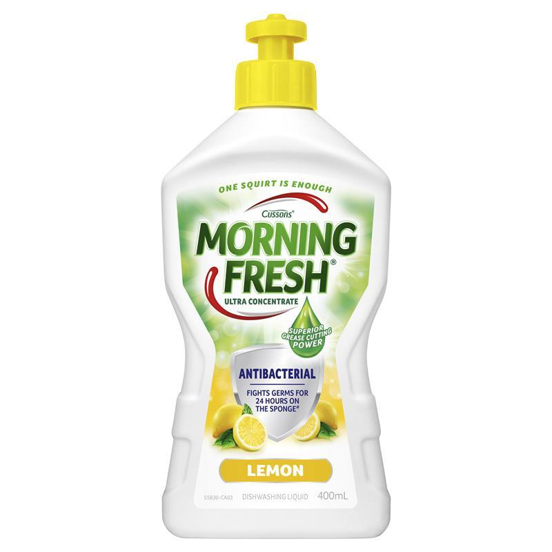 Morning Fresh Dishwashing Liquid Antibacterial Lemon 400ml at Chemist Warehouse in Campbellfield, VIC | Tuggl