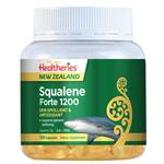 Healtheries New Zealand Squalene Forte 1200 120 Capsules