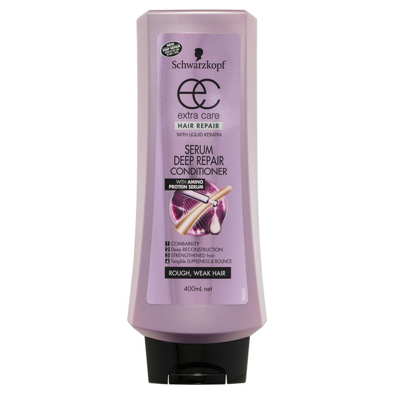Schwarzkopf Extra Care Serum Deep Repair Conditioner 400ml at Chemist Warehouse in Campbellfield, VIC | Tuggl